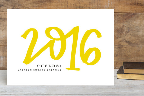Hand letter 2017 business holiday cards by phrosne minted hand letter 2017 business holiday cards reheart Choice Image