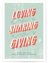 Loving Sharing Giving by Alex Elko Design