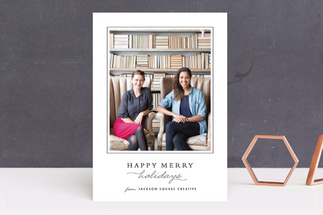 Classic Business Holiday Cards