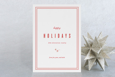 Spruce Twig Business Holiday Cards