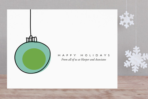 Blue Note Business Holiday Cards