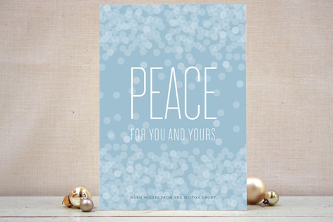 Peace for All Business Holiday Cards