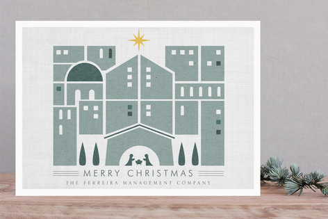 Nativity Business Holiday Cards