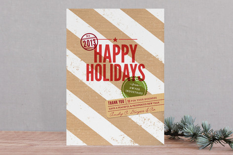 Special Delivery Business Holiday Cards