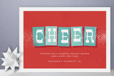 Swanky Holiday Business Holiday Cards