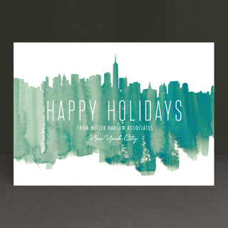 Paint The Town Business Holiday Cards