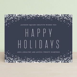 Snow Frame Business Holiday Cards