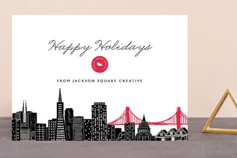 Big City - San Francisco Business Holiday Cards