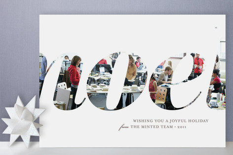 Grande Noel Business Holiday Cards