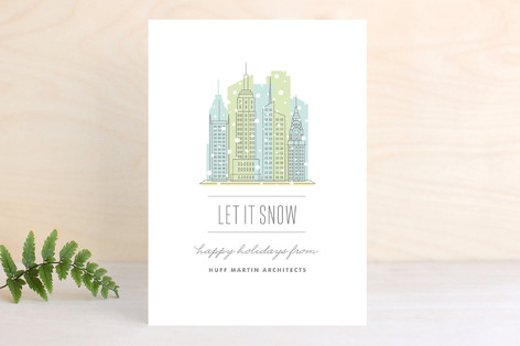 City Flurry NYC Business Holiday Cards
