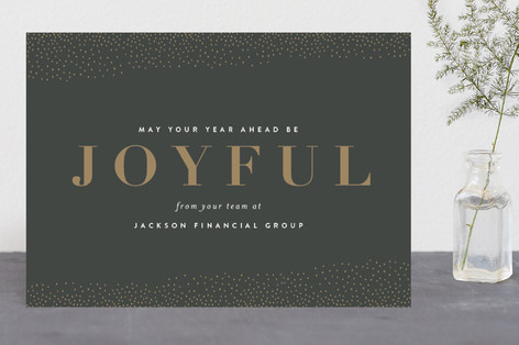 Cheers to You Business Holiday Cards