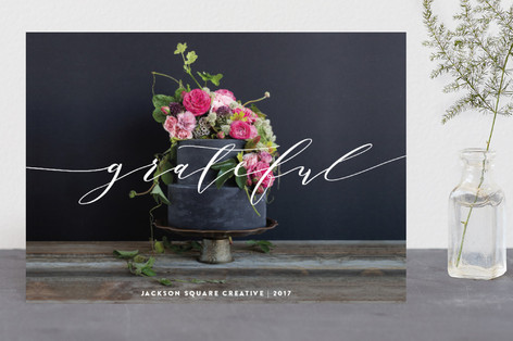 Grateful Business Holiday Cards