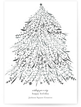 Sparkle Business Holiday Cards