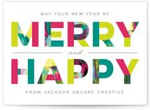 Merry + Happy by Three Kisses Studio