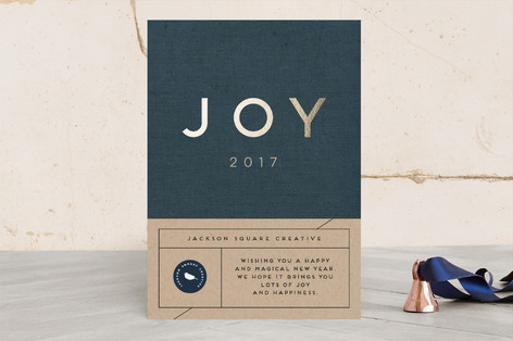 Big Joy Business Holiday Cards