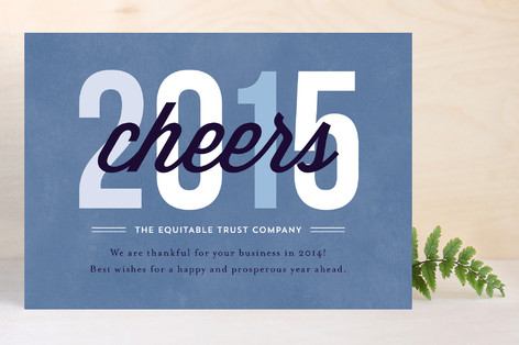 Cheers to 2017 Business Holiday Cards