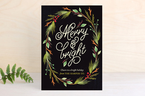 Currant & Juniper Business Holiday Cards