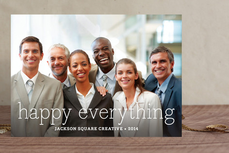 Happy Everything Business Holiday Cards