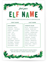 Elf Name by Bethany Anderson