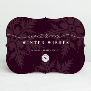 Winter Snows Business Holiday Cards