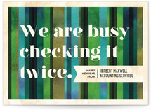 Checking It Twice by Alex Elko Design