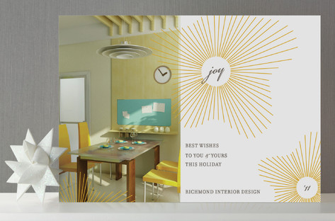 float + joy Business Holiday Cards