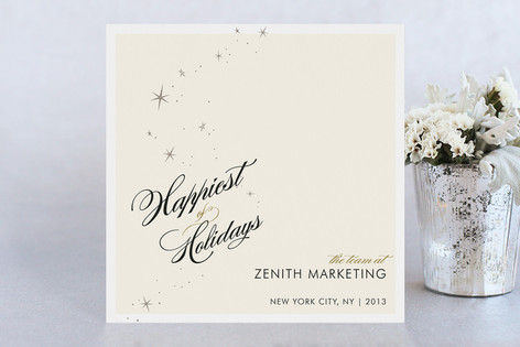 Float + Starry Business Holiday Cards