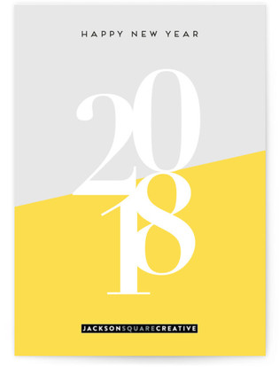 Bright new year business holiday cards reheart Image collections