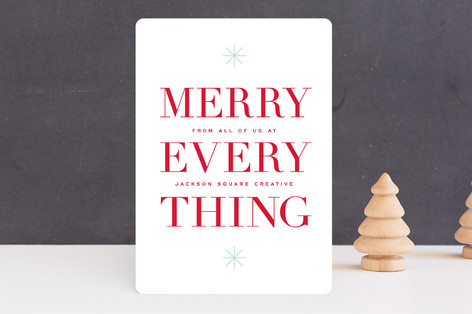 Tinsel Time Business Holiday Cards