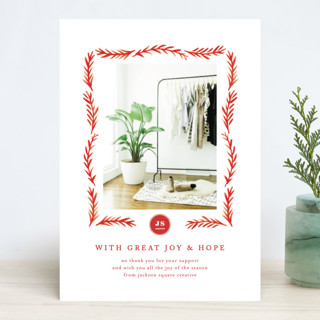 Grateful Hearts Business Holiday Cards