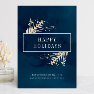 Painted Pines Business Holiday Cards
