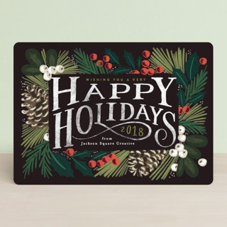 Forest Frame Business Holiday Cards
