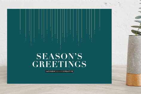 Seasons greetings business holiday cards by seven minted seasons greetings business holiday cards m4hsunfo Gallery