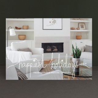 Holiday Revelry Business Holiday Cards