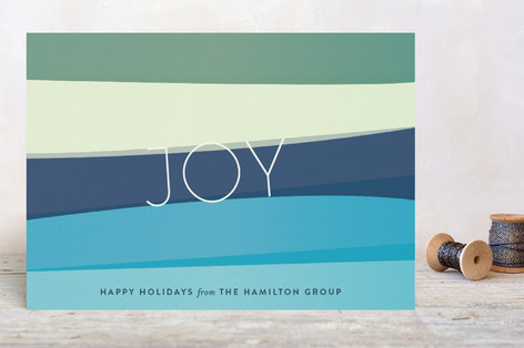 Making Waves Business Holiday Cards