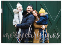 Aglow Foil-Pressed Holiday Petite Cards