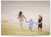 Peace Joy Love by Julia Hall