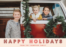 Holiday Celebration Foil-Pressed Holiday Cards By Vine and Thistle