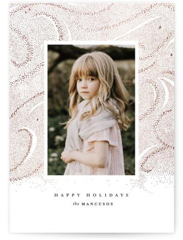 Snowbank Foil-Pressed Holiday Cards