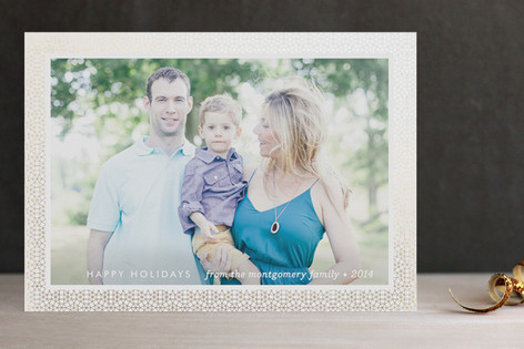 Gracious Star Foil-Pressed Holiday Cards