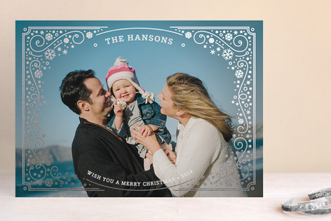Shining Bright Foil-Pressed Holiday Cards