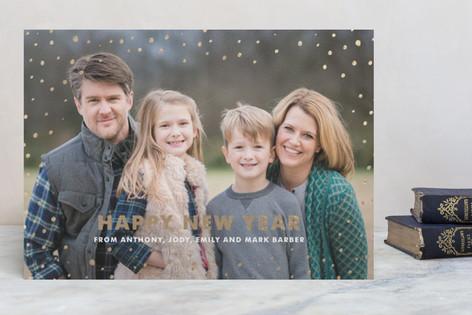 Sprinkles Foil-Pressed Holiday Cards