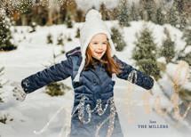 Joyful Greeting Foil-Pressed Holiday Cards By Erin Deegan