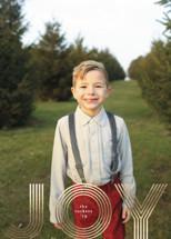 Joyline Foil-Pressed Holiday Cards By Erica Krystek