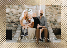 Glimmering Foil-Pressed Holiday Cards By Jessica Williams