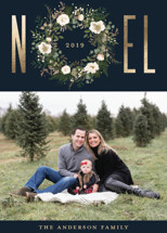 Noel Foil-Pressed Holiday Cards By Susan Moyal
