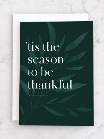 the season of thanks