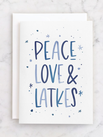 Peace, Love & Latkes