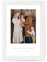 This is a grey gloss press holiday card by Pixel and Hank called All that Glitters with gloss-press printing on smooth signature in standard.