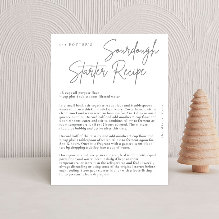 """""""minimal christmas script"""" - Holiday Insert Cards in Stone by Sumak Studio."""